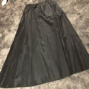 Vintage taffeta ball skirt
